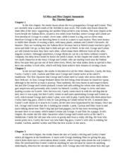 of mice and men sacrifices of mice and men a novel by john 3 pages of mice and men chapter summaries edited by ainsler