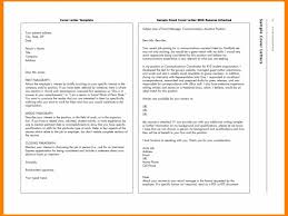 Email Cover Letter Template Best Email Covering Letter Template Review Of How To Send Resume Via