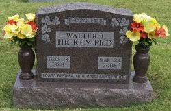 Dr Walter John Hickey (1948-2008) - Find A Grave Memorial