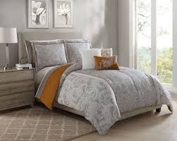 architecture orange and grey comforter modern set from bed bath beyond intended for 0