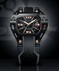 newest black and rose gold luxury sport watch wryst automatic 2824 automatic watch for men swiss made 2824