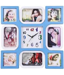 archies collage frames plastic wall hanging blue collage photo frame pack of 1