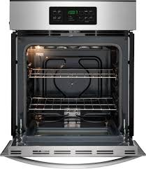 Electric Wall Oven 24 Inch Frigidaire Ffew2425q 24 Inch Single Electric Wall Oven With 33