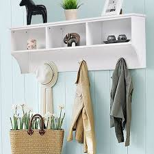 Wall Coat Rack Walmart Delectable Breakwater Bay Luz Entryway Wall Mounted Coat Rack Walmart