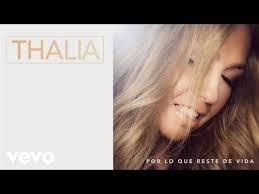 Thalia Biography Discography Chart History Top40 Charts