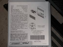 picture of recalled sample model data tag
