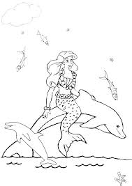 Barbie Mermaid Coloring Pages Mermaid Coloring Pages Print Barbie