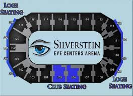 Mavericks Seating Chart Rows Seating Chart Silverstein Eye Centers Arena