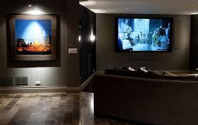 dark basement paint. Stunning Images Of Basement Home Theater Decoration Design Ideas : Cute Using Dark Paint
