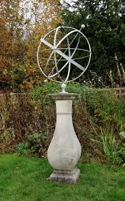 large armillary sphere and pedestal