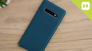 Official Samsung S10 / S10 Plus <b>Genuine Leather</b> Case Review ...