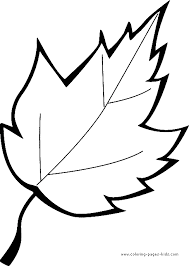 leaf coloring pages. Leaf Color Page Coloring Pages Plate Sheetprintable Picture Throughout