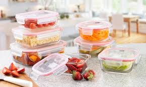 neo 14 piece glass container set