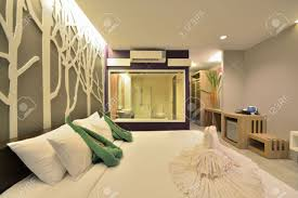 Luxury Bedroom Interior Luxury Bedroom Interior Design For Modern Life Style Stock Photo