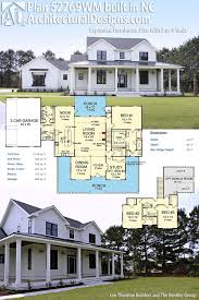 modern small two story house plans best of plan wm expanded farmhouse plan with 3 or