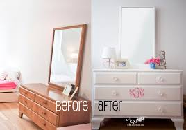 chalk paint furniture before and afterBEFORE  AFTER  Moxiblog