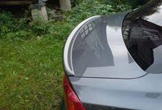 Тюнинг от TuningMyCar. абс <b>Спойлер</b> (лип) на <b>кромку багажника</b> ...