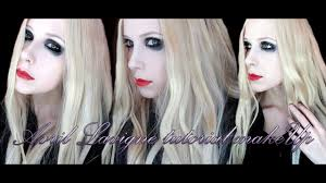 avril lavigne tutorial makeup the tour