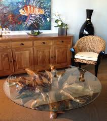 chic teak furniture. Teak Root Coffee Table Including 55 Inch Round Glass Top Made By Chic * You Can Find More Details Visiting The Image Link. Furniture G