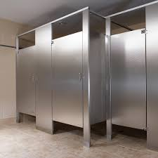 Stainless Steel Partitions Bradley Corporation - Bathroom toilet partitions