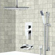 hand shower for tub tub and shower faucet chrome tub and shower system with ceiling handheld