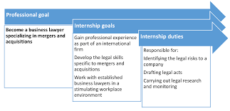 what are your professional goals making the most of your internship openclassrooms