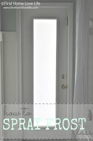Diy Frosted Glass Door 38 Best Diy Privacy Techniques For Windows Images On Pinterest