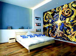 Minion Bedroom Wallpaper Exploding Tardis Mural Wallpaper Sticker Doctor Who Bedroom