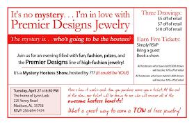 Premier Designs Mystery Hostess Fun Mystery Hostess Invitation Idea Premier Designs