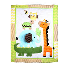 Buy Baby Oodles Baby Quilt With Jungle Friends Theme Online | Best ... & Buy Baby Oodles Baby Quilt With Jungle Friends Theme online Adamdwight.com