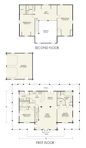 ramsey log home from hochstetler milling ramsey floorplan home floor plans