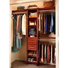 closet shelving systems wood