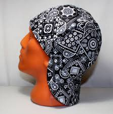 Welding Cap Pattern Classy 48 Black Bandana Welders Hats Bikers Caps Welding Cap Hat Cotton