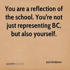 Quotes About Representing Yourself Best of Josh Beekman Quotes QuoteHD