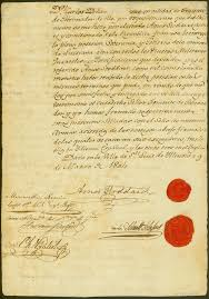 Louisiana Purchase Treaty Makes Rare Appearance At History Museum     Upper Louisiana Transfer Document  page two  March