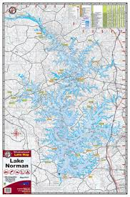Lake Norman Map By Kingfisher