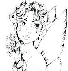 fantasy coloring pages fairy for s final printable