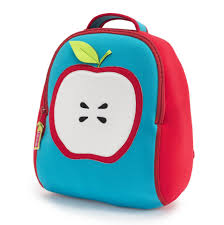 apple of my eye backpack and lunch bag by dabbawalla bags