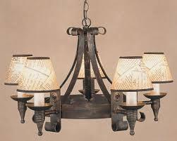 cromwell black gold 5 light wrought iron cartwheel chandelier