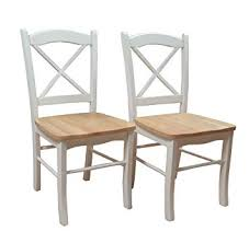 Target Marketing Systems Set of 2 Tiffany Dining Chairs with Cross Back, Amazon.com: