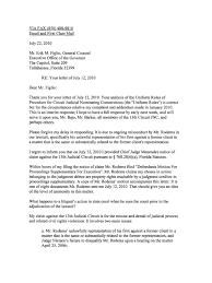Letter To Rick Figlio 13th Circuit Notice Of Claim 768 28 Fla