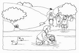 27 Jesus Baptism Coloring Page Images Free Coloring Pages Part 3