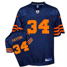 Authentic Navy 34 Walter - Nfl Bears Jersey Blue Youth Payton Reebok Chicago Alternate