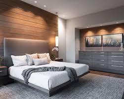 modern master bedrooms interior design. Large Minimalist Master Dark Wood Floor And Brown Bedroom Photo In Other With Beige Walls Modern Bedrooms Interior Design