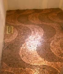 wavy penny floor