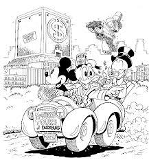 Disney Weirdness Don Rosa Draws Mickey Mouse Nursery Room Don