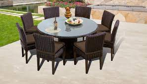 round patio table for 8 off 59