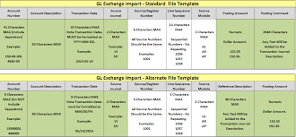 General Ledger Format Save Time Increase Accuracy With General Ledger Exchange 4