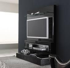 black diamond wall mounted modern tv cabinets design black