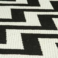 small black rug zigzag natural and white area rugs